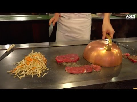 Thumbnail: Teppanyaki: French Beef & French Duck - Japanese Food in Germany