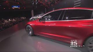 Musk Says Tesla Set To Meet Demand For Model 3