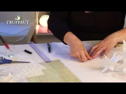 DIY déco Noël : étoiles en papier - Jardinerie Truffaut TV