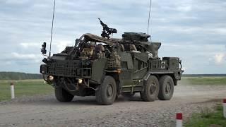 Grupa Batalionowa NATO ćwiczy w Orzyszu