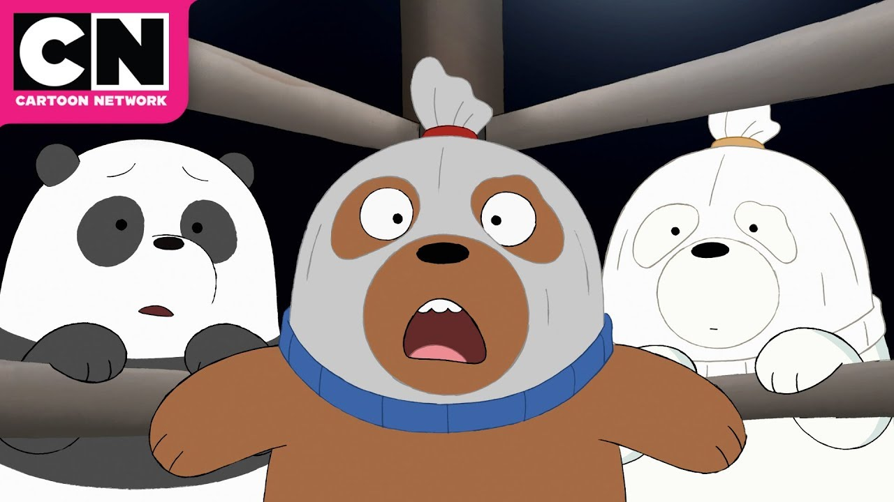 We Bare Bears Baby Bear Wrestlers