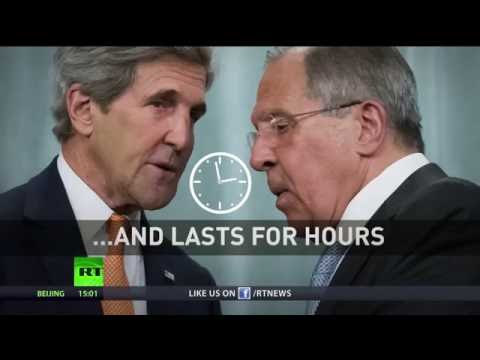 'Mutual mistrust reduced': Lavrov & Kerry agree on concrete steps to ease Syrian conflict
