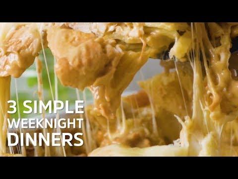 3 Simple Weeknight Dinners