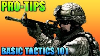 Battlefield 4 - Pro Tips: Basic Tactics 101 (Mini-map, Reloading & Cover)