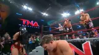 TNA AJ Styles & Kazarian vs. MCMG Highlights