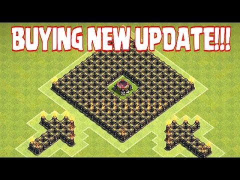 """Clash Of Clans - BUYING NEW UPDATE """"GEM SPREE"""" (ALL SPELLS & UNITS)"""