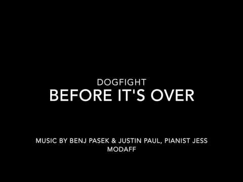 Before It's Over from Dogfight - Piano Accompaniment