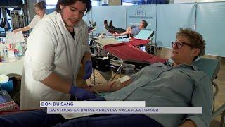 Yvelines | Don du sang : Les stocks en baisse après les vacances d'hiver