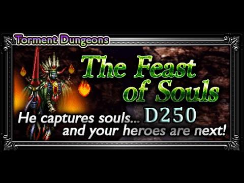 [FFRK] Torment Dungeon - FFVII | The Feast of Souls (D250) - Boss Fight #695