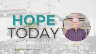 Hope for Today   Are You Getting in God's Way?   7.12.21