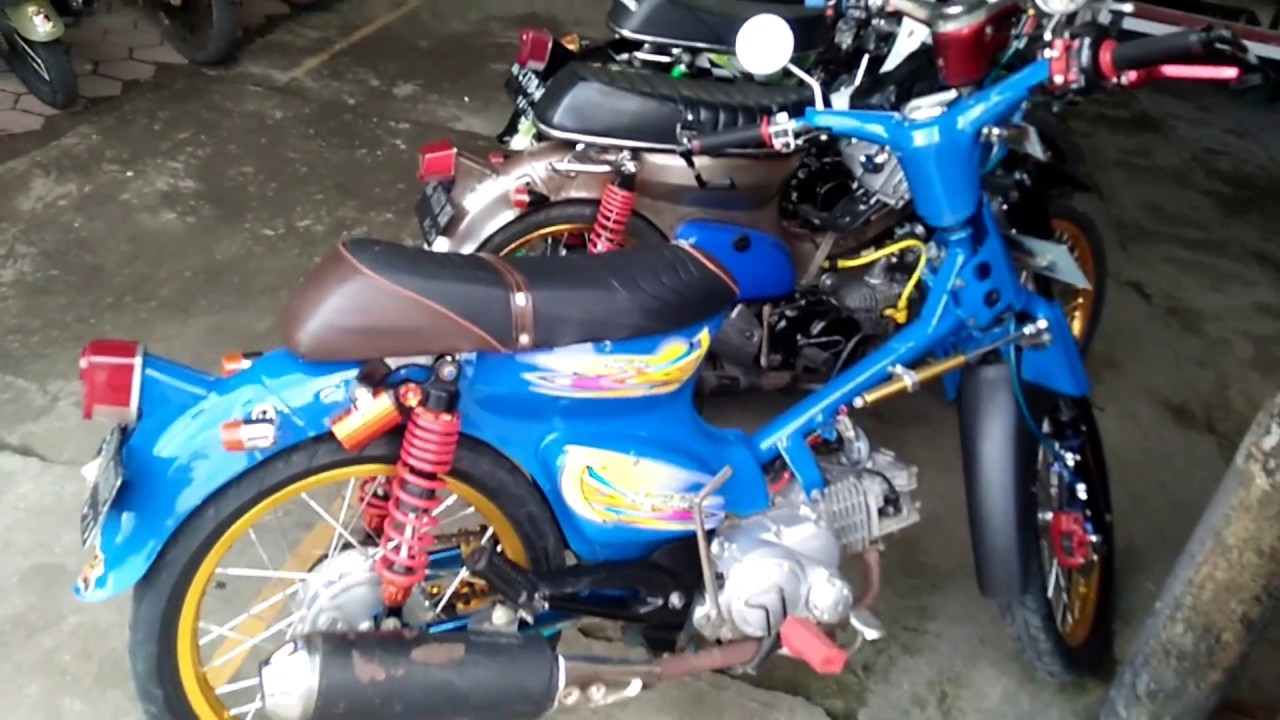 Motor Honda Kalong Yang Melegenda YouTube