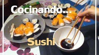 Cocinando...Sushi