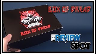 Subscription Spot   The Box of Dread December 2017 UNBOXING!