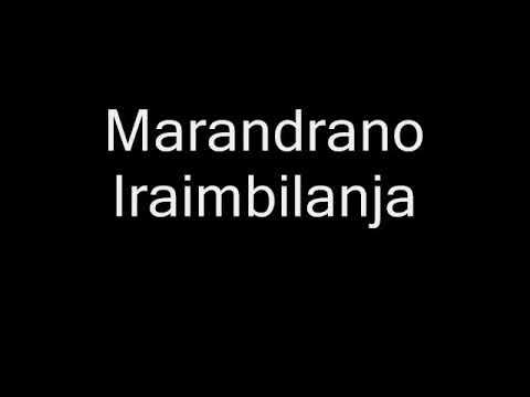 Marandrano Iraimbilanja