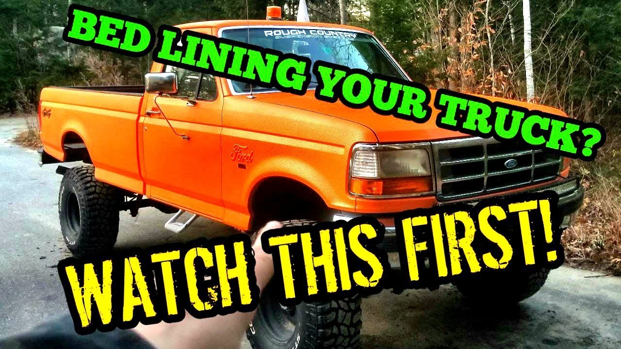 Should You Bed Line Your Truck Using Bed Liner As Paint 9 Lifted