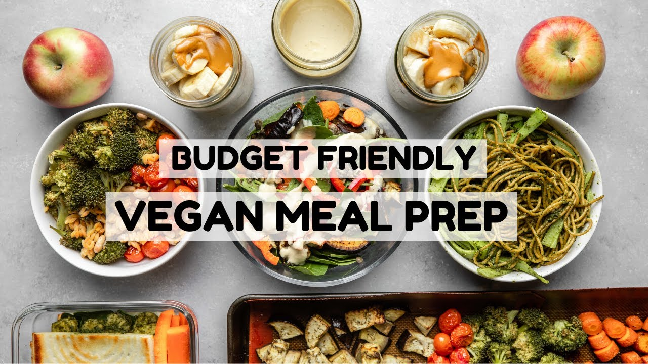 Vegan Meal Prep 3 Meals From Trader Joe S Youtube