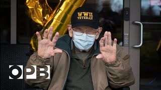 World's Oldest COVID-19 Survivor Turns 104--Postcards From The Pandemic Bill Lapschies lived through the 1918 flu pandemic and served in the Army during World War II. Now, at 104, he may also be the oldest known survivor of ..., From YouTubeVideos