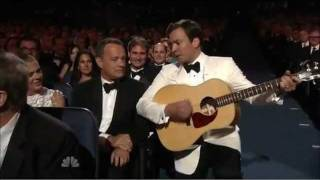 2010 Emmys Jimmy Fallon W/ Tom Hanks (Genre: Miniseries & Movies)