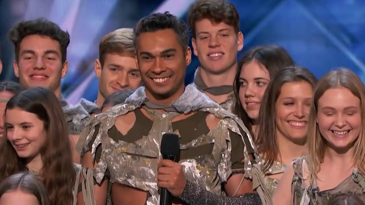 Image result for Zurcaroh: Golden Buzzer Worthy Aerial Dance Group Impresses Tyra Banks - America's Got Talent 2018 image