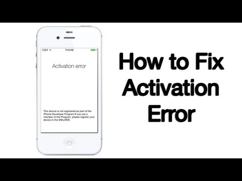 iphone activation required activation error fix iphone ipod 10 6 2013 11579