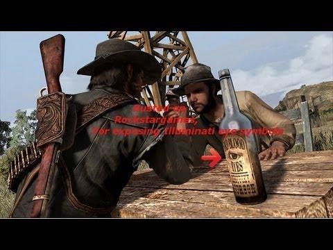 Rockstar Games are exposing eye symbols of illuminati sign.