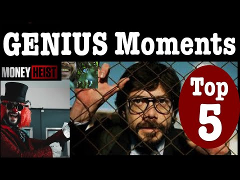 Top 5 Genius Moments in Money Heist ! Brilliant Moments that Matter Most