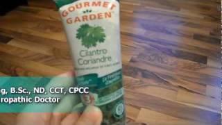 Review Gourmet cilantro paste alternative fresh contains dairy