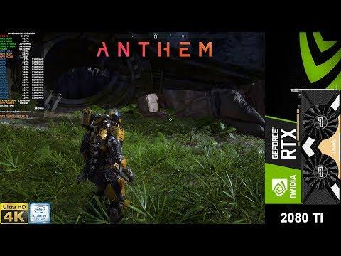Anthem Demo Maximum Settings 4K   RTX 2080 Ti   i9 9900K 5.1GHz