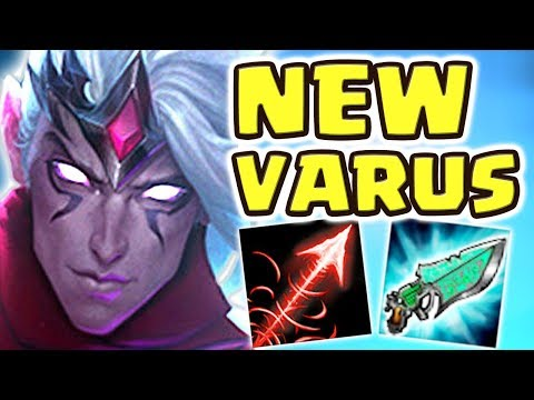 WHAT IS THIS DAMAGE ?? FULL AP VARUS JUNGLE IS ACTUALLY BUSTED?! UNREAL DAMAGE TANKS CAN'T SURVIVE!!
