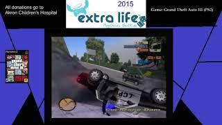 Extra Life 2015: Part 15F - Grand Theft Auto III