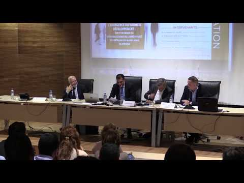 """UIR - Conférence """"l'émergence du Business Développement"""""""