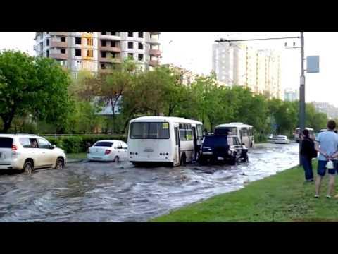 Потоп на Чкалова в Оренбурге (21.05.17)
