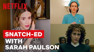 Sarah Paulson Breaks Down Her Iconic Career Through Wigs | Netflix