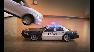 Уничтожение Полицейского Ford Из Пластилина Краш Тест,  Crash Test Plasticine Police