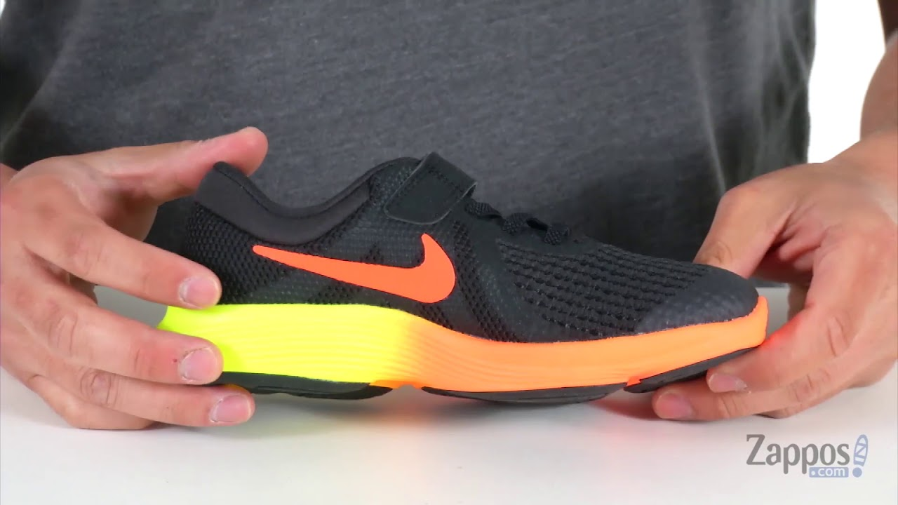 862b0e05bd49d2 Nike Kids Revolution 4 Fade (Little Kid) SKU  9032987 - YouTube