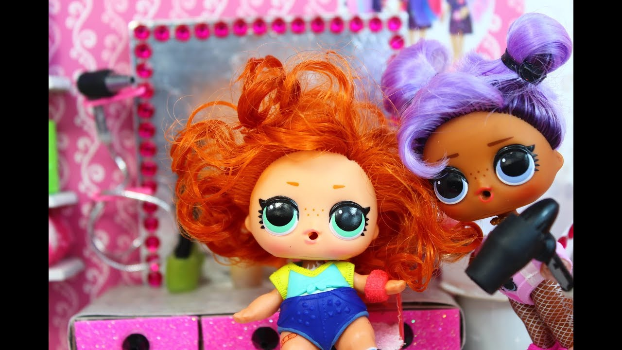КУКЛЫ ЛОЛ. Кто испортил причёску? Мультик про куклы LOL ...