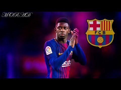 عثمان ديمبيلي مهارات واهداف وجنون المعلقين على لاعب برشلونة الجديد 2017 HD