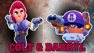 Colt Darryl Brawl stars animation | Maria Lopez Channel