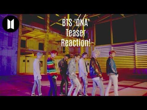 BTS (방탄소년단) 'DNA' Official Teaser 1 (Reaction Video!)
