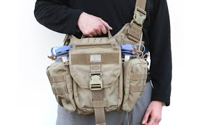 One of the best tactical man-bags ever made - MOBIUS 2.0 by Vanquest :SHOT show 2016