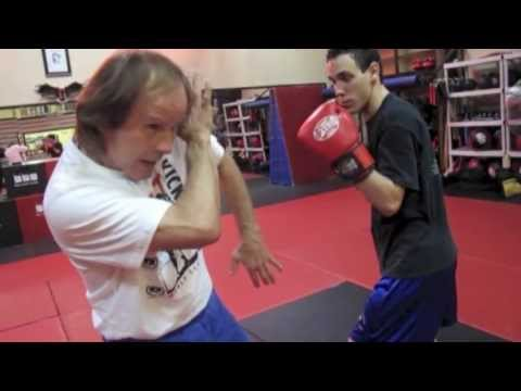 "Sensei Benny ""The Jet"" Urquidez teaches a great building block drill with Bob Left Drill"