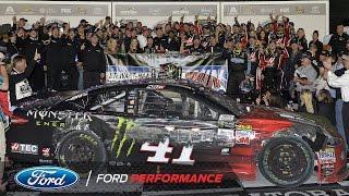 Kurt Busch and Ford Stewart-Haas Racing Claim 2017 Daytona 500 | NASCAR | Ford Performance thumbnail
