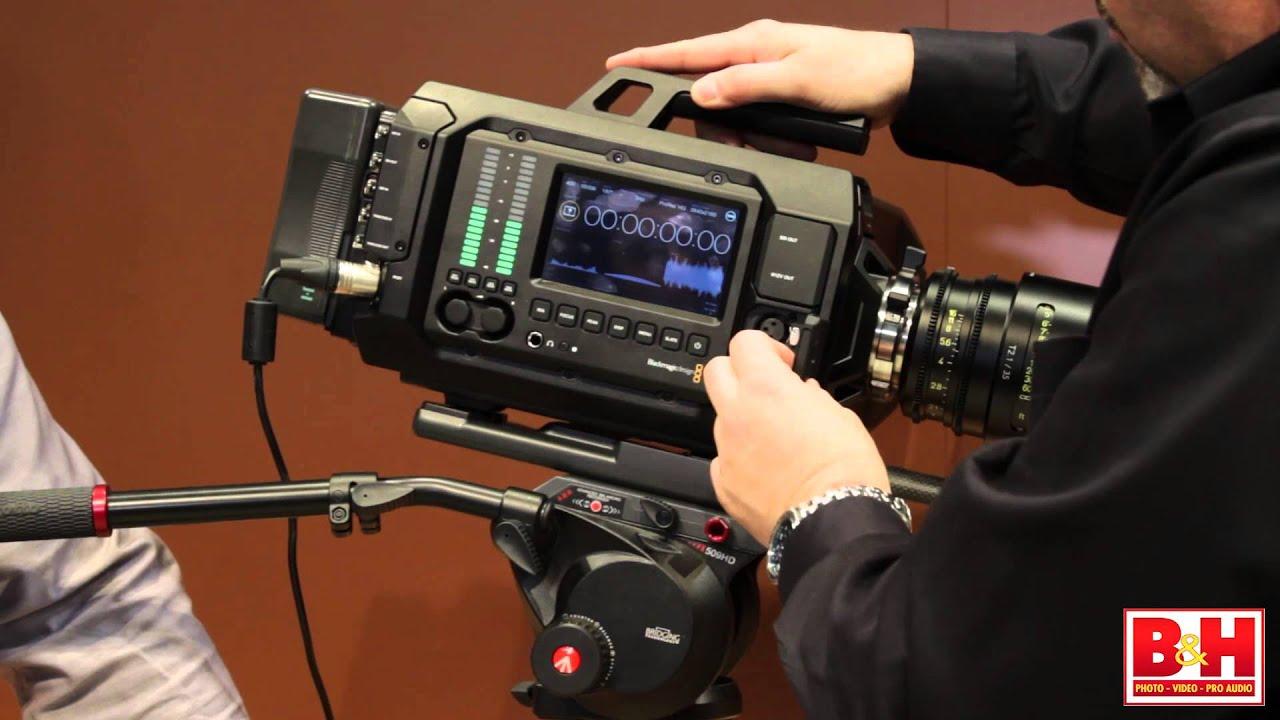 Blackmagic Design Ursa 4k Camera Nab 2014 Youtube