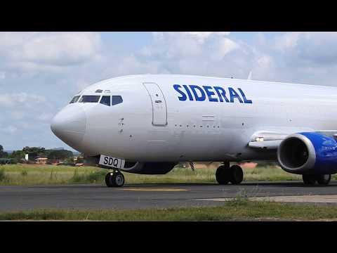 PR-SDQ Sideral Air Cargo Boeing 737-3M8(BDSF)  Em Teresina