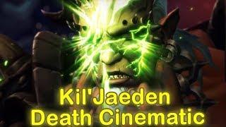 WoW Legion 7.2.5 Kil'Jaeden Death Cinematic | Kil'Jaeden Defeat Cinematic |Tomb of Sargeras Cutscene