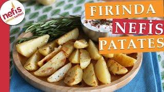 Yoğurt Soslu Fırında Patates Tarifi - Nefis Yemek Tarifleri