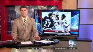 "RIT on TV: RIT Tigers Hockey honors ""Part Time Joe"" on WROC"
