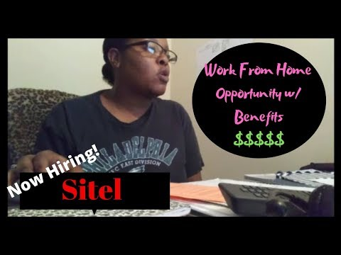 Work From Home | SITEL | Inbound Call Center Agents |Chanina Lindsey