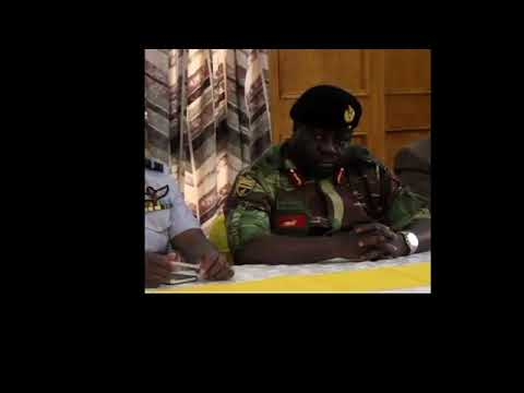 Download Youtube: Zimbabwe military press conference in FULL