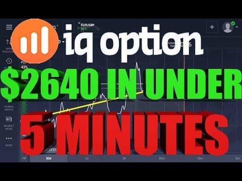 IQ Option $2640 In Under 5 Minutes